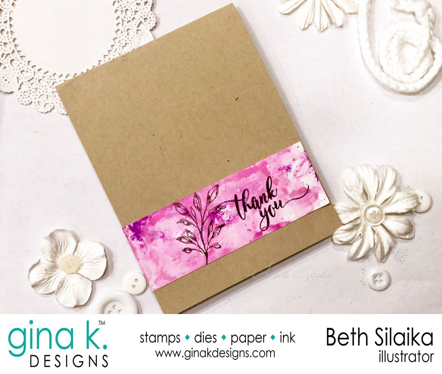 Gina K. Designs & Inkon3 Collaboration Blog Hop
